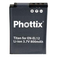 Phottix Titan EN-EL12 voor Nikon