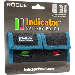 Rogue Indicator Battery Pouch AA, AAA, 9v