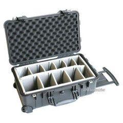 Peli Case 1514 Black Carry on 55,9x35,1x22,9cm (dividers interieur)