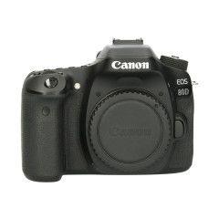 Tweedehands Canon EOS 80D - Body Sn.:CM9475