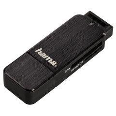 Hama Cardreader USB 3.0 SD / Micro SD - zwart