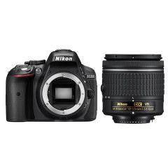 Nikon D5300 Zwart + AF-P 18-55mm VR