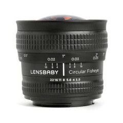 Lensbaby Circular Fisheye Lens Fuji X