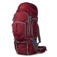 Naneu Pro K5 Adventure 80L PRO Hiking / Photo Backpack – Burgundy