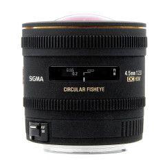 Sigma 4.5mm f/2.8 EX DC HSM Fisheye Canon