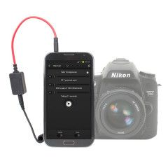 Triggertrap Smartphone afstandbediening met DC1 Nikon kabel