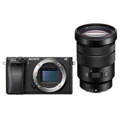 Demo Sony A6300B body + SEL 18-105