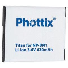 Phottix Titan NP-BN1 voor Sony