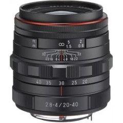 Pentax HD DA 20-40mm f/2.8-4.0 ED DC WR - Zwart