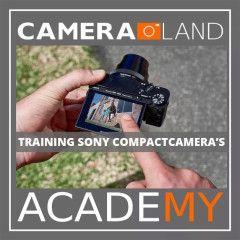 Academy Training Sony compactcamera - 08 december 2018