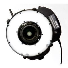 Quantum Omicron 3 TTL LED Ringflitser en video continu licht