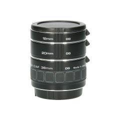 Tweedehands Soligor set tussenringen 3-delig voor Canon AF/EFS Sn.: CM1574