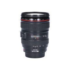 Tweedehands Canon EF 24-105mm f/4.0 L IS USM Sn.:CM0310