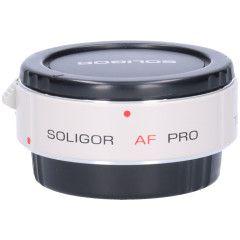 Tweedehands Soligor AF Digi Teleconverter 1.4xPRO voor Canon Sn.:CM0897