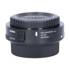 Tweedehands Sigma TC-1401 1.4x Teleconverter - Nikon Sn.:CM0991