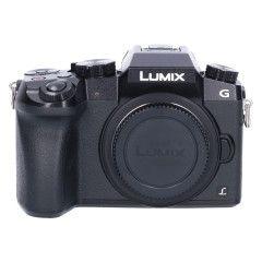 Tweedehands Panasonic DMC-G7 Zwart - Body Sn.:CM1332