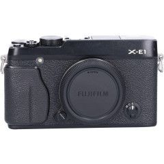 Tweedehands Fujifilm Finepix X-E1 Zwart Body Sn.:CM2099