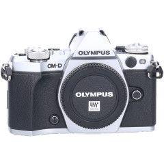 Tweedehands Olympus E-M5 Mark II Body Zilver Sn.:CM2134