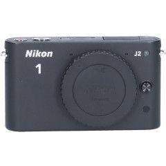 Tweedehands Nikon 1 J2 Zwart Sn.:CM2296