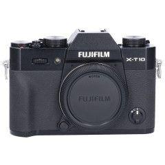 Tweedehands Fujifilm X-T10 Zwart - Body Sn.:CM2374