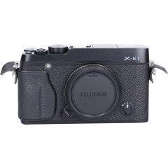 Tweedehands Fujifilm Finepix X-E1 Zwart Body Sn.:CM2376