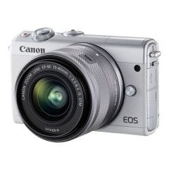 Canon EOS M100 Zilver + 15-45mm Limited Edition