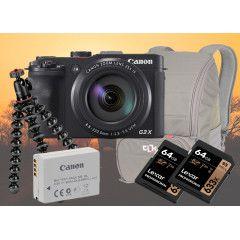 Canon G3 X Safari kit met GRATIS boek Africa Together