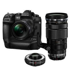Olympus OM-D E-M1X Zwart + 12-40mm PRO + 40-150mm PRO met 1.4 converter