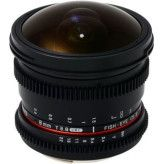 Samyang 8mm T3.8 Diagonal Fisheye VDSLR CS-II Canon