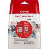 Canon CLI-581 Photo Multipack - Zwart + 3 kleuren