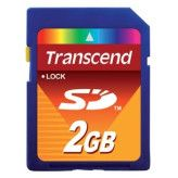 Transcend TS2GSDC SD Geheugenkaart 2GB