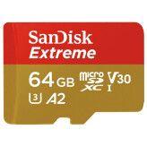 SanDisk MicroSDXC Extreme 64GB U3 A2 160mb/s