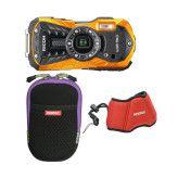 RICOH WG-50 Oranje kit inc. tas & strap
