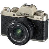 Fujifilm X-T100 Goud + XC 15-45mm