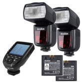 Godox Speedlite V860II Canon X PRO Duo kit