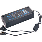 FXLion dual V-lock charger / AC adapter for BPM series (D-tap)