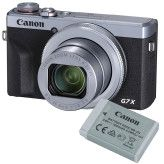 Canon PowerShot G7X Mark III Zilver Battery kit
