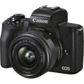 Canon EOS M50 Mark II Zwart + 15-45mm IS STM
