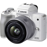 Canon EOS M50 Mark II Wit + 15-45mm IS STM