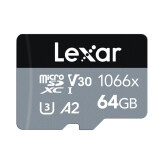 Lexar microSDXC High-Performance UHS-I 1066x 64GB