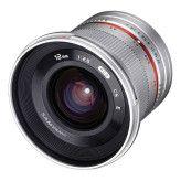 Samyang 12mm f/2.0 NCS CS Fuji X - Zilver