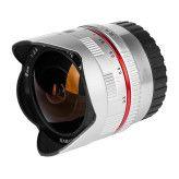 Samyang 8mm f/2.8 Fisheye II Canon M - Zilver