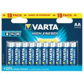 Varta High Energy AA-batterijen - 10 stuks