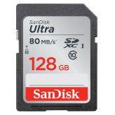 Sandisk SDXC Ultra 128GB 80MB/s Class 10