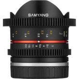 Samyang 8mm T3.1 UMC Fisheye VDSLR II Fuji X