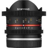 Samyang 8mm T3.1 UMC Fisheye VDSLR II Canon M