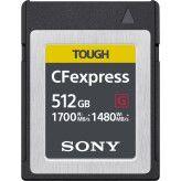Sony CFexpress Type B 512GB R1700/W1480