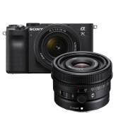 Sony A7C Zwart + 28-60mm + 24mm