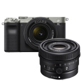 Sony A7C Zilver + 28-60mm + 50mm