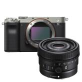 Sony A7C Zilver + 40mm